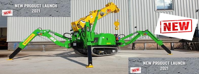 Lift Mini Cranes New Eco Range