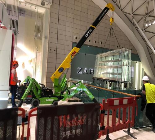 Lift Mini Crane Hire